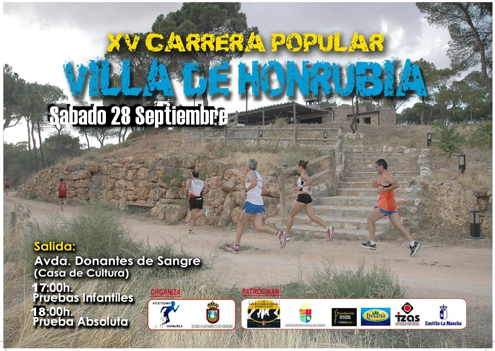 XV Carrera Popular Honrubia 2013